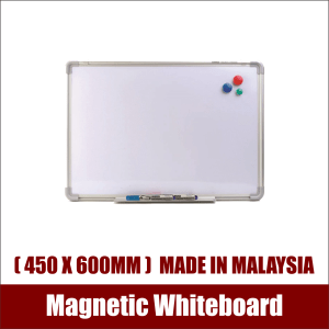 Aluminium Frame Magnetic Whiteboard (450x600mm) Made in Malaysia