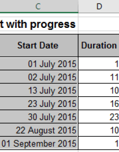 Data chart in excel also gantt with progress rh officetooltips