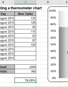 The thermometer chart excel also creating  simple rh officetooltips