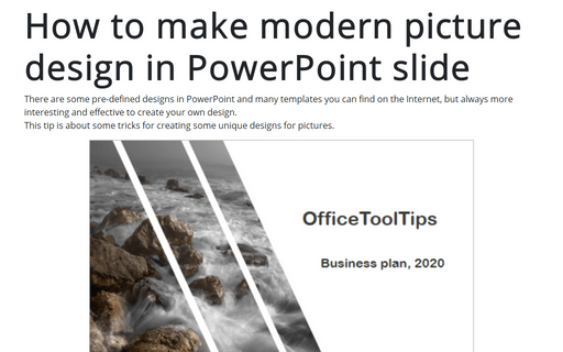 PowerPoint 2016 Tips