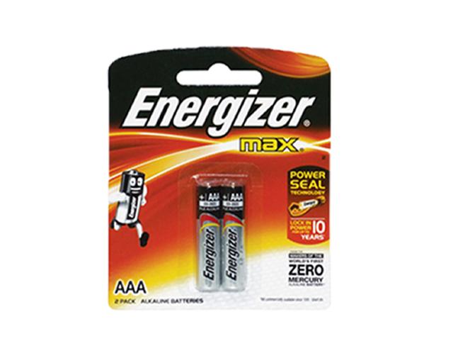 Energizer Battery E92BP2 AAA 2 pcs per pack  Office