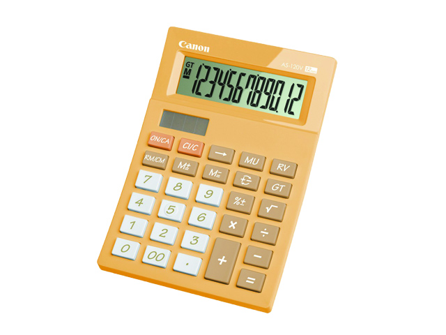 Canon Calculator AS120V Pink  Office Warehouse Inc