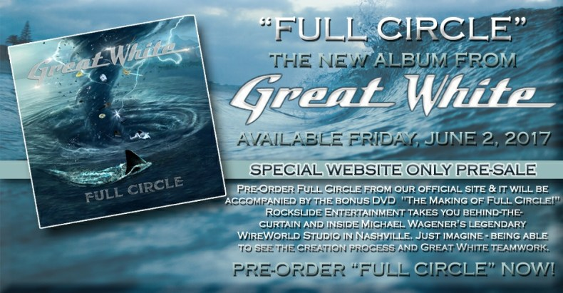 Great White Is Back With Their New Record Full Circle!