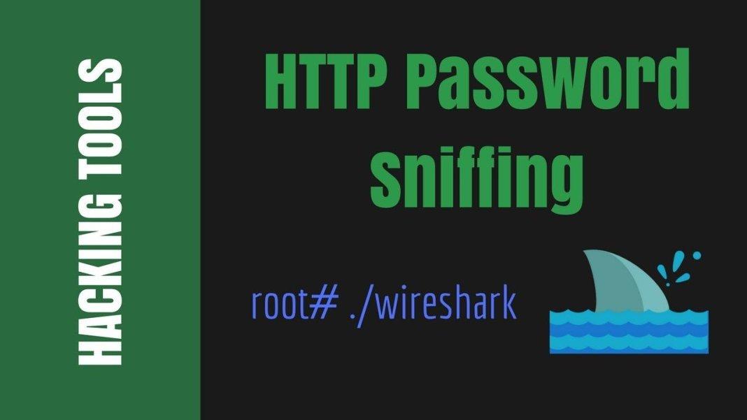 How To Sniff Password Using Wireshark