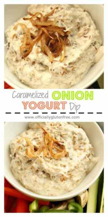 Caramelized Onion Yogurt Dip