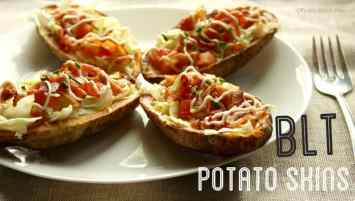 BLT Potato Skins