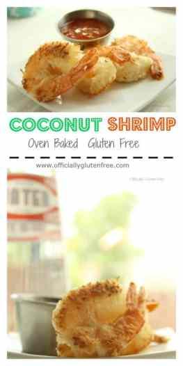 Coconut Shrimp Gluten Free