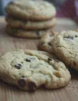 Vanilla Pudding Chocolate Chip Cookies Gluten Free