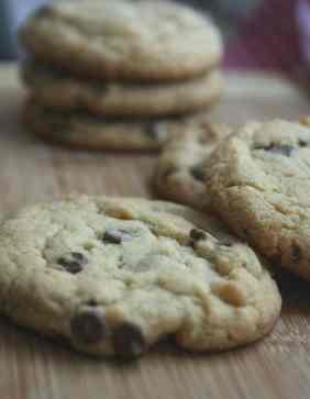 Vanilla Pudding Chocolate Chip Cookies Gluten Free