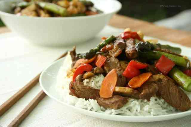 Korean BBQ Beef Vegetable Stir Fry