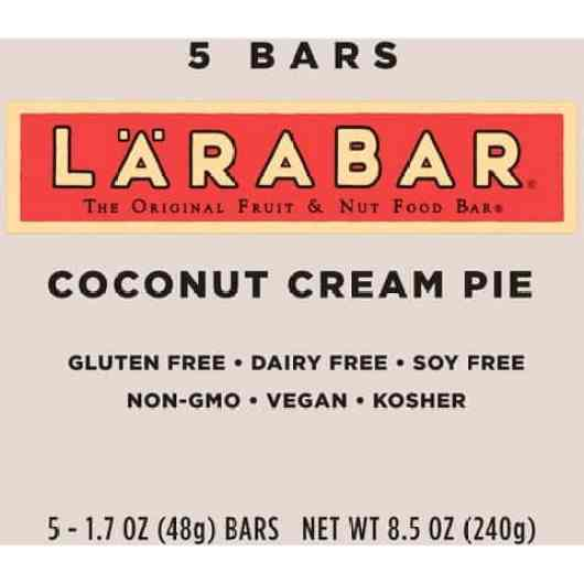 Larabar Coconut cream
