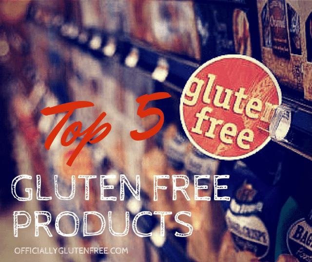 top 5 Gluten Free Products for May 2016