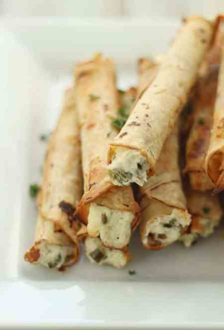 Gluten Free Cream Cheese Taquitos
