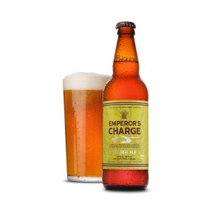 King's Royal Hussars Emperor's Charge Golden Ale