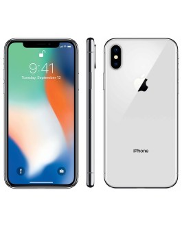 Apple iPhone X 256GB Silver 4G Sim Free Grade B
