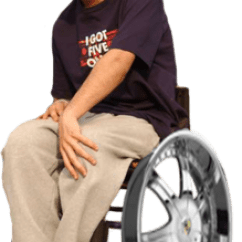 Wheelchair Drake Chair Covers Gumtree Takes Photos With Bound Fans Kanye West Forum