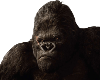 Image result for free King Kong 2005 transparent