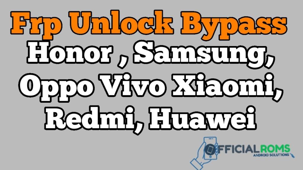 AMT 1.02 Tool Frp Unlock Honor,samsung,Xiaomi oppo