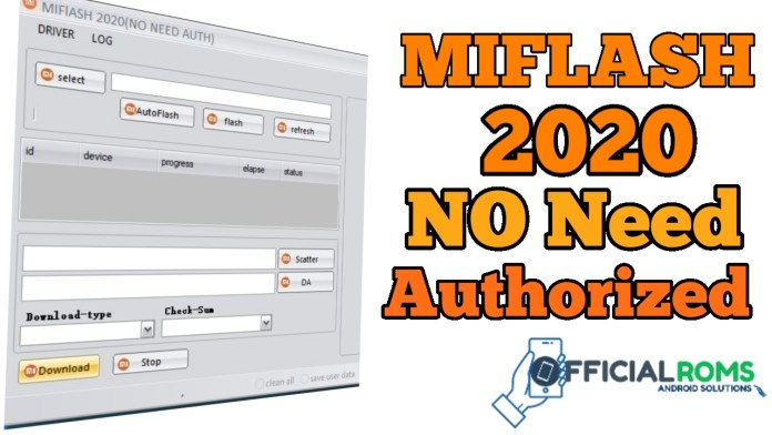 MI FLASH 2020 No Need Authorized Free Download