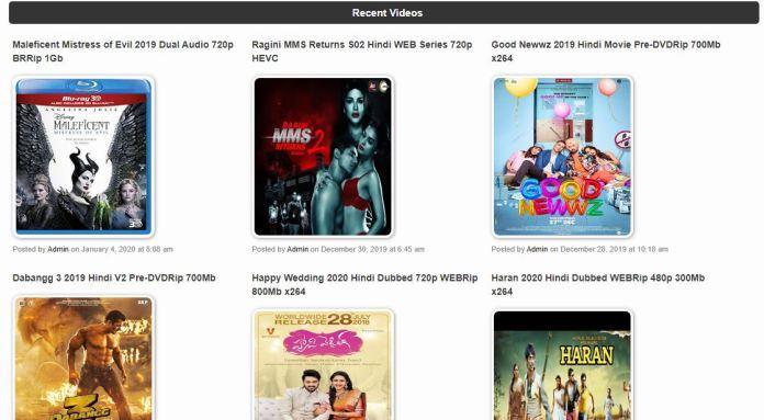 World4uFree Bollywood Movies, 300MB Dual Audio on WorldFree4u
