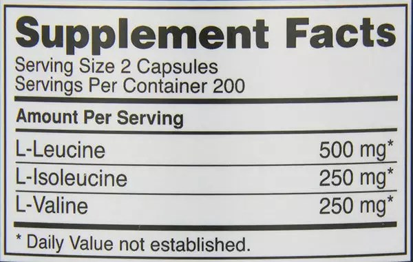 OPTIMUM NUTRITION Instantized BCAA Capsules