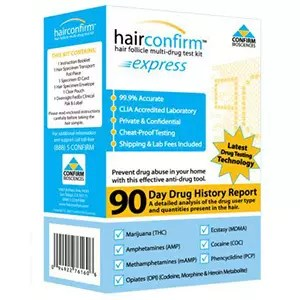 Hair Follicles Drug Test Kit