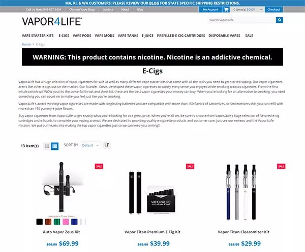 Vapor4Life Review