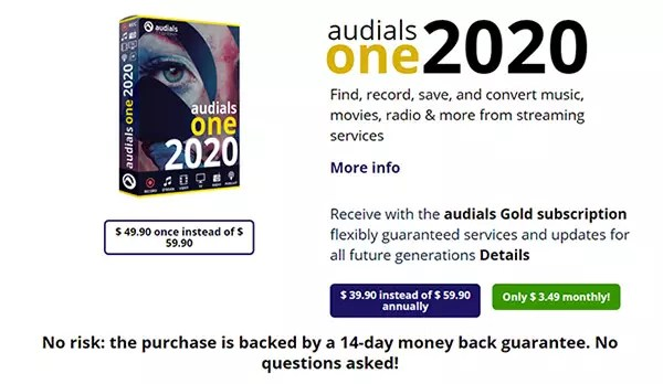Audials One 2020 Review