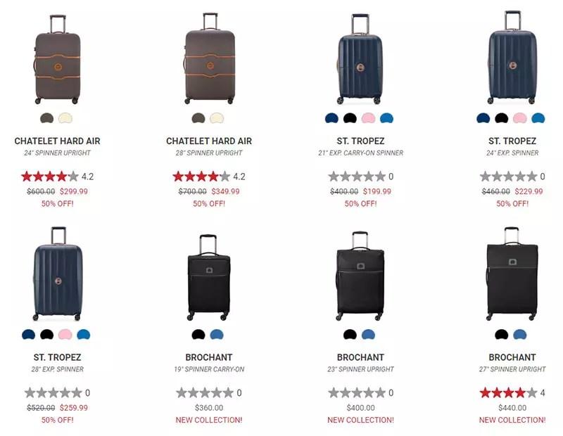 Delsey Paris Luggage