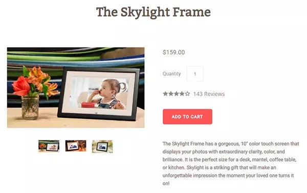 Skylight Frame