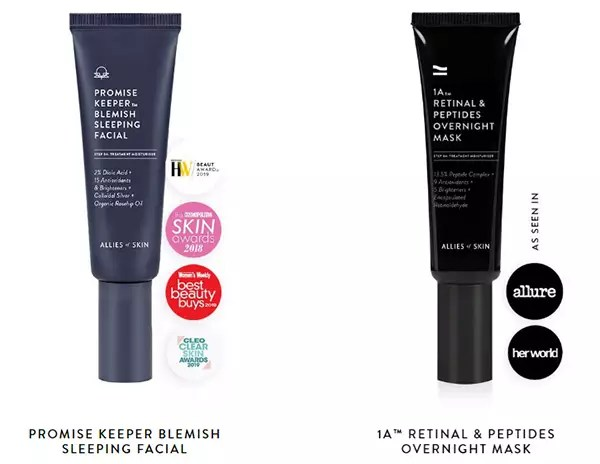 Nighttime Hydration Products