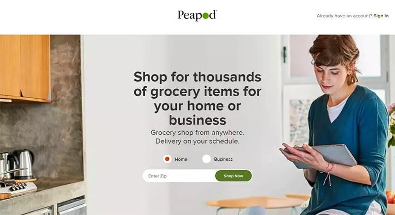 Peapod vs Instacart