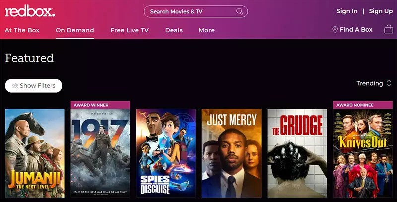 Redbox vs Netflix