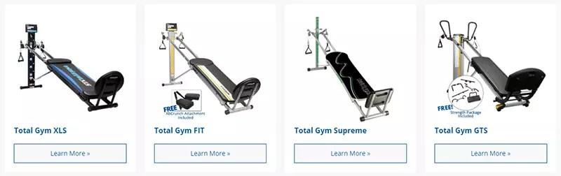 Total Gym vs Bowflex