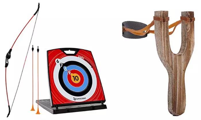 Archery and Slingshot