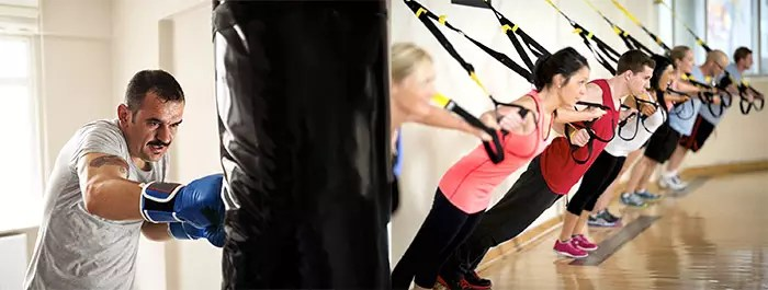 Heavy Bag Boxing and Resistance Training