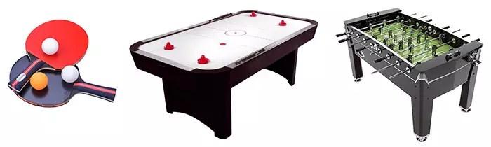 Indoor Tabletop Games