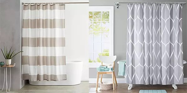 AmazonBasics and JRing Shower Curtain