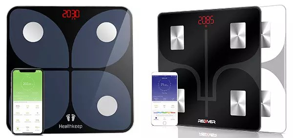 Healthkeep and Redover Smart Bathroom Scale