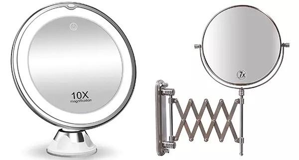 Koolorbs and DecoBros Makeup Mirrors