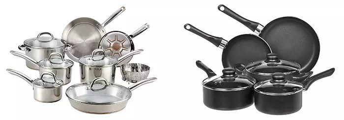 Stainless Steel and Non-Stick