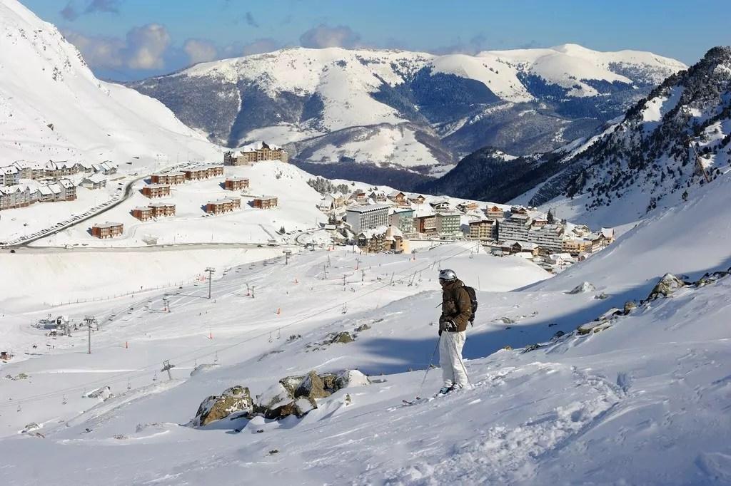 Bagneres-de-Bigorre-ski