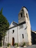 Cure thermale Berthemont-les-Bains - Eglise de la station thermale