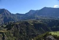 Cure thermale à Cilaos - Le crique vue d'en haut