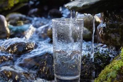 eau verre extérieur