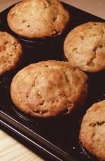 muffins sortant du four