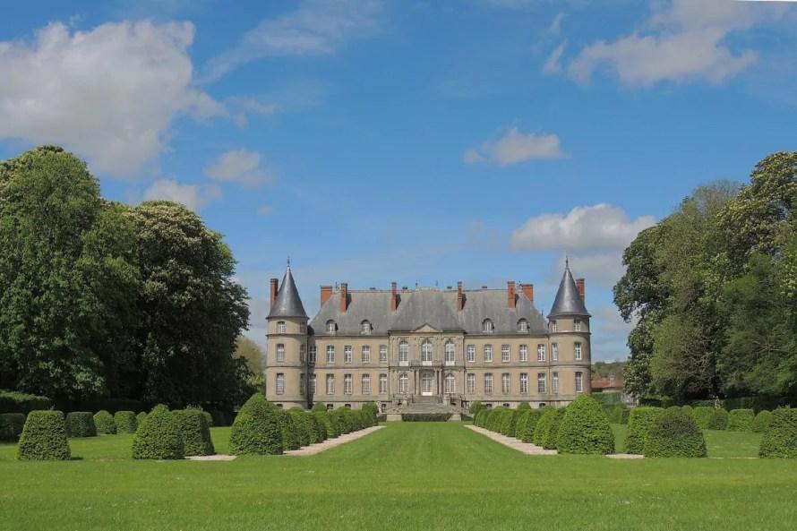 Devanture château d'Haroué