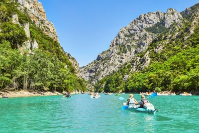 gorges du verdon, voyage thermal, PACA