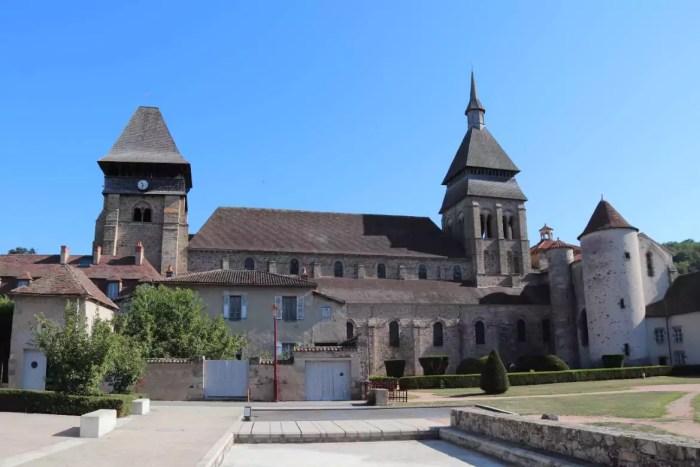 L'abbatiale de Sainte-Valérie