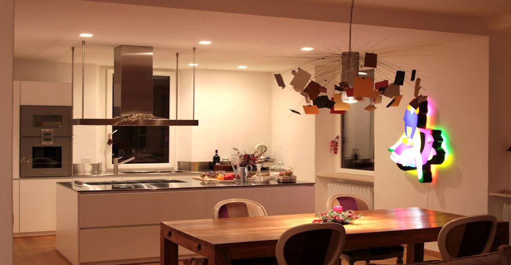 Illuminazione Appartamento Centro Storico  Officina della